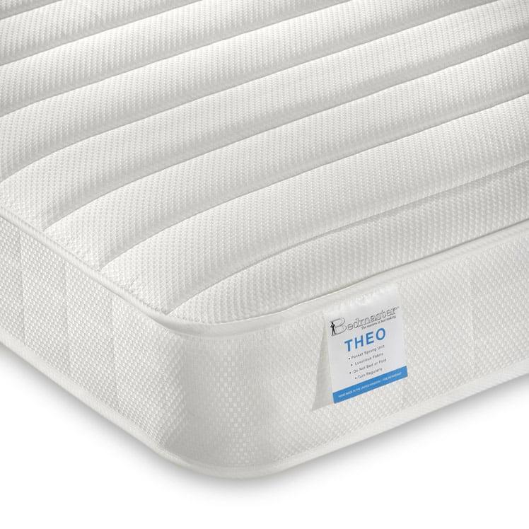 Bed Sales Online: Bedmaster Theo Pocket Sprung Low Profile Mattress